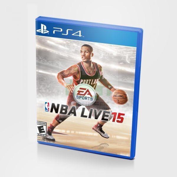 Диск для PS4 NBA Live 15