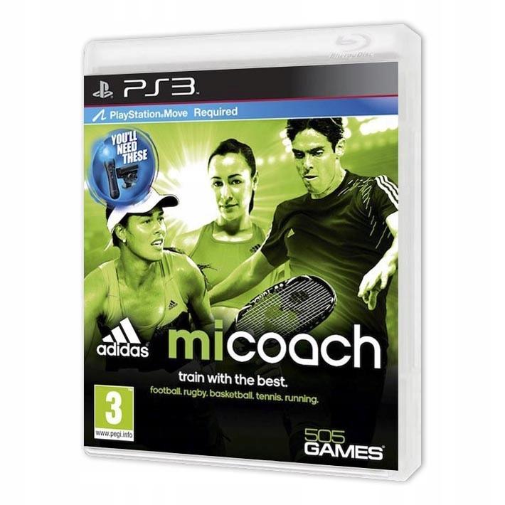 Диск для PS3 Adidas miCoach