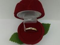 Кольцо с камнями  Золото 585 (14K) вес 1.66 г
