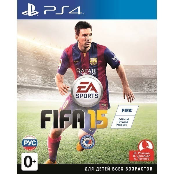 Диск PS4 FIFA 15