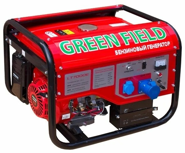 Бензиновый генератор Green Field LT 7000