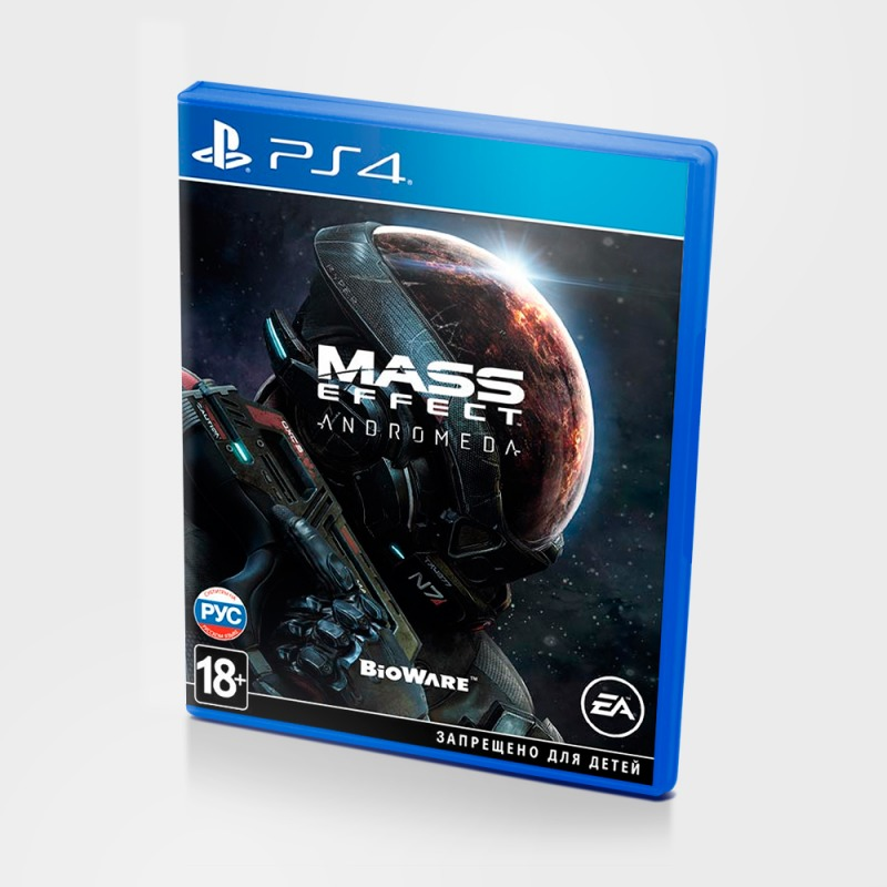 Диск на PS4 Mass Effect Andromeda