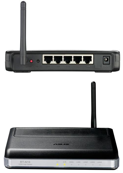 WiFi роутер Asus RT-N10