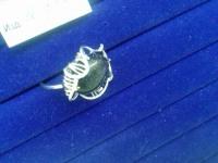 Кольцо с камнем Серебро 925 вес 4.25 г