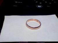 Обручальное кольцо Золото 585(Друг) вес 1.76 г