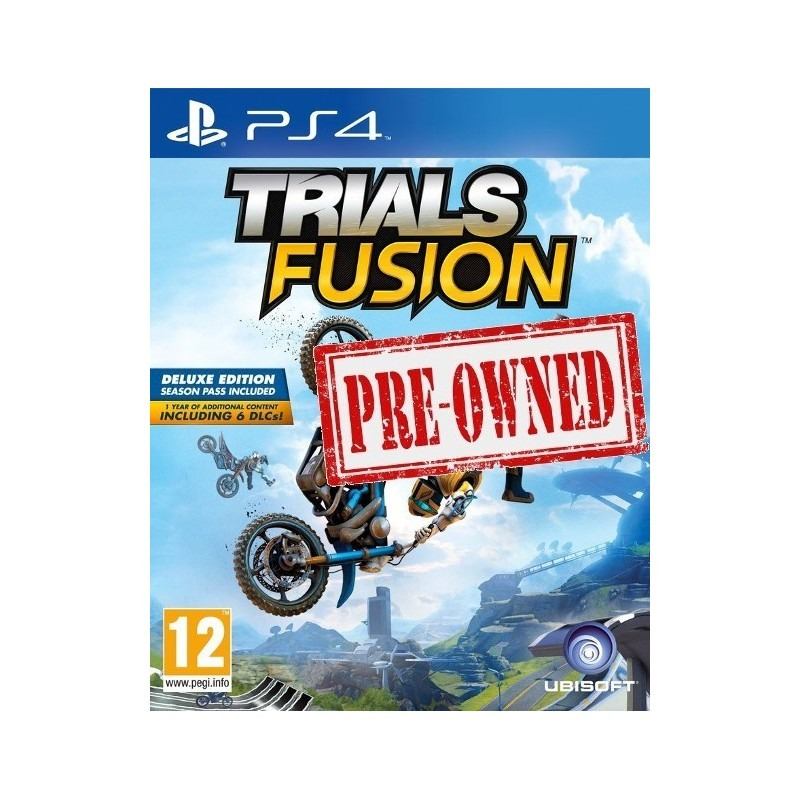 Диск Trials fusion ps4