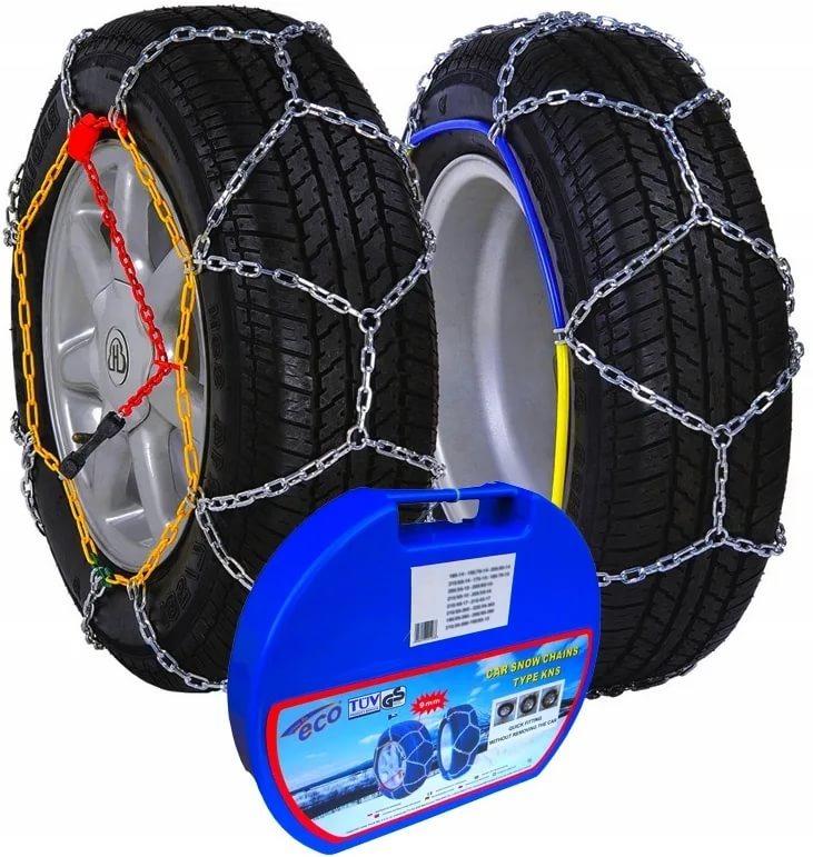 Автомобильные цепи на колёса Motorace Snow Chain