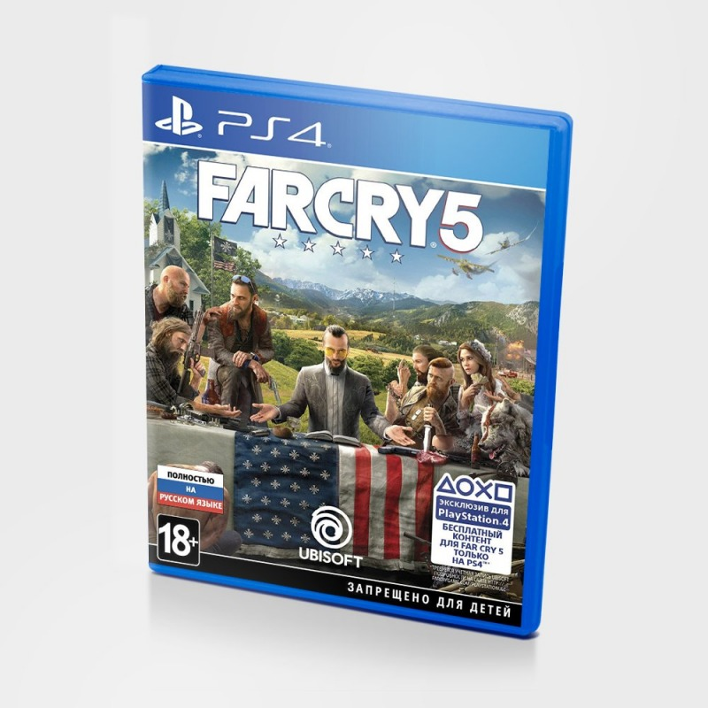Диск для PS4 Far Cry 5