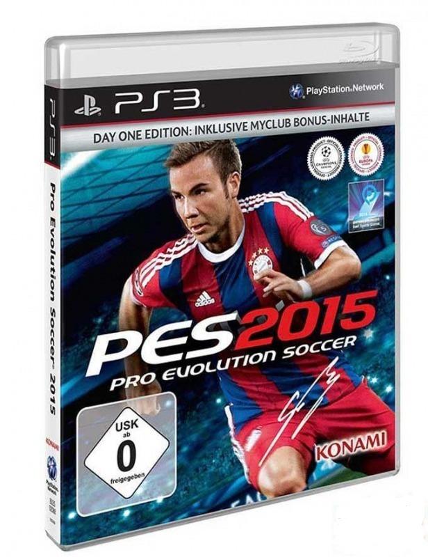 Диск PS3 Pro Evolution Soccer 2015