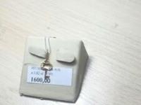 Подвеска в виде ключа Золото 585 (14K) вес 0.82 г
