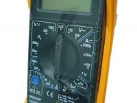 Мультиметр МD838P в рез калоше ( + темпер.+проз)