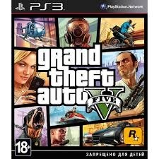 Диск PS3 Grand Thert Auto V