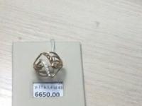 Кольцо с камнями  Золото 585 (14K) вес 3.40 г