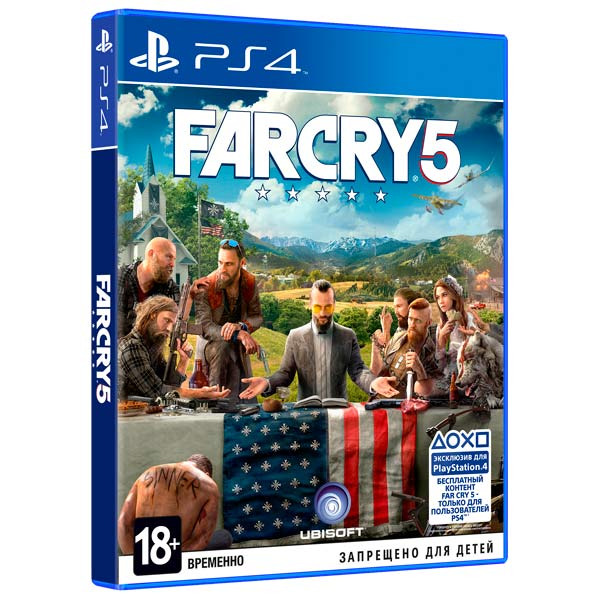 Диск для PS4 FarCry 5