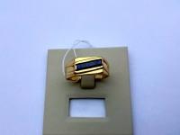 Перстень с камнем Золото 585 (14K) вес 6.90 г
