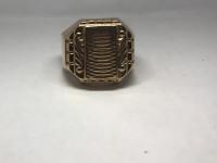 Кольцо-Печатка  Золото 583 вес 5.65 г