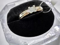 Кольцо с бриллиантами Золото 585 (14K) вес 2.67 г
