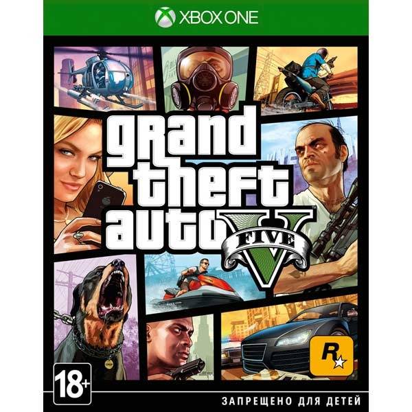 Диск Xbox One GTA V
