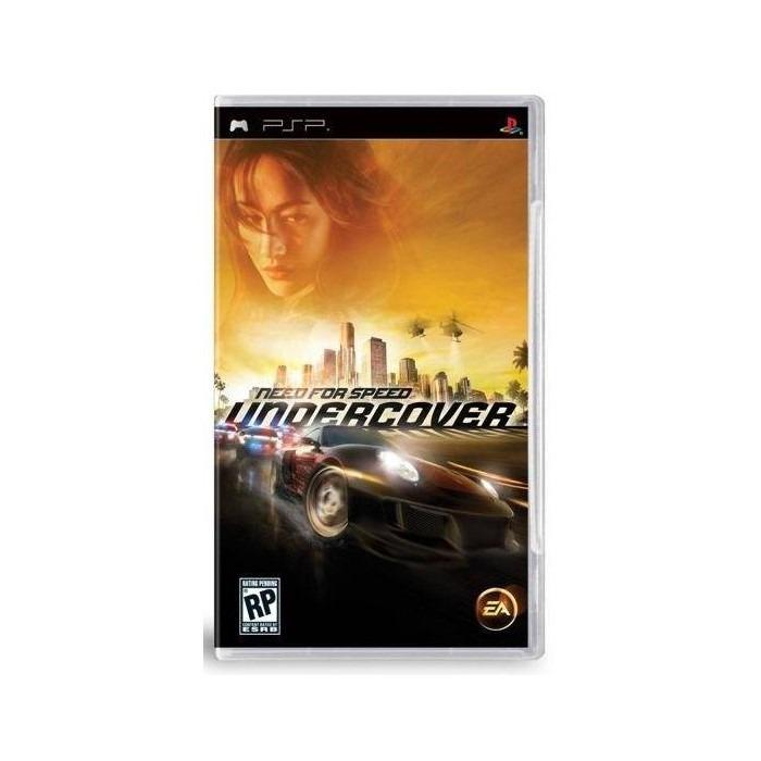 Диск для PSP NeedForSpeed undercover