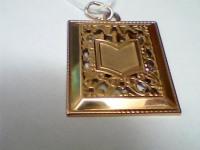 Подвеска иконка Золото 585 (14K) вес 2.92 г