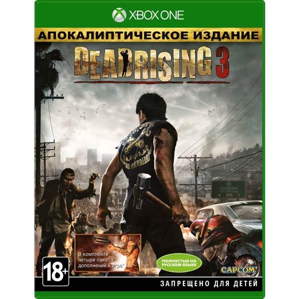 Диск Xbox One Deadrising 3 Apocalypse Edition