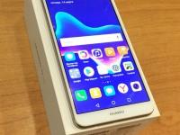 Смартфон Huawei Y9 2018 ,б/у,п/ц комплект