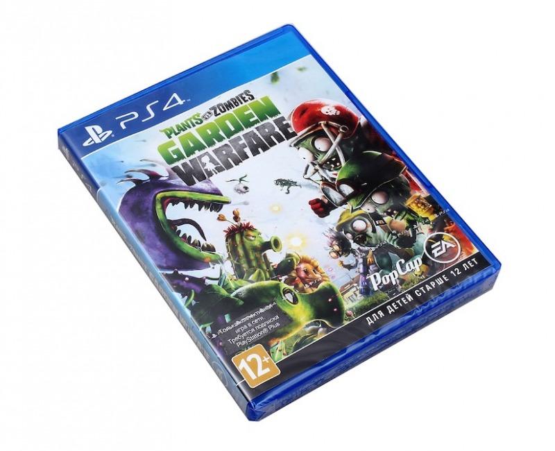Диск на PS4 Plants vs Zombies