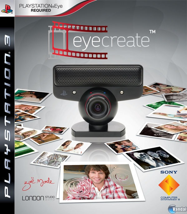 Диск для PS3 EyeCreate