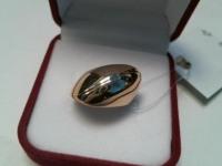Кольцо  Золото 585 (14K) вес 6.82 г