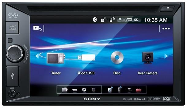 Автомагнитола Sony XAV-68BT