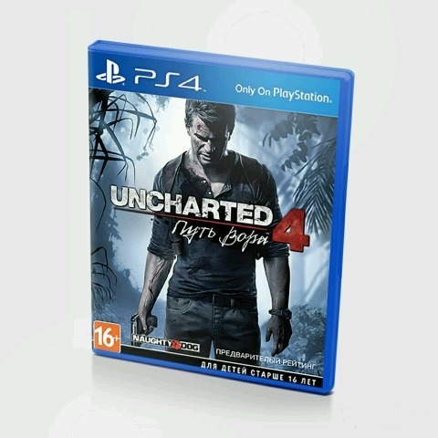 Диск для PS4 Uncharted 4 Путь вора
