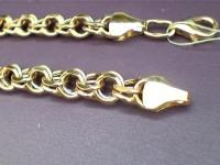 Браслет Золото 585 (14K) вес 6.85 г