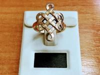 Кольцо Золото 585 (14K) вес 5.38 г