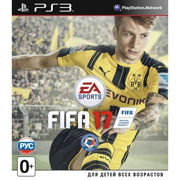 Диск PS3 Fifa 17