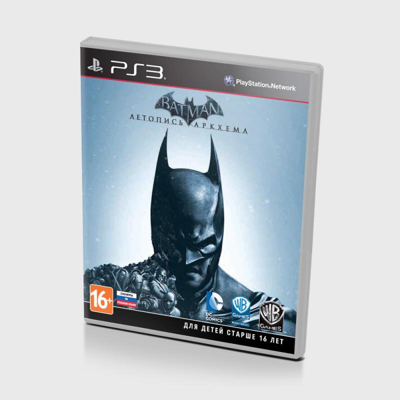 Диск на PS3 Batman Летопись Аркхема