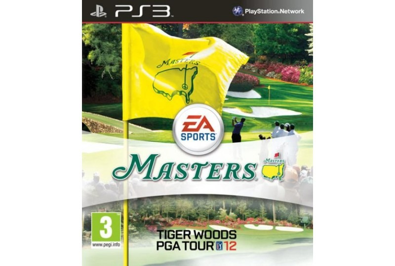 Диск PS3 Tiger Woods PGA TOUR 12: The Masters