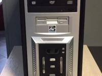 Системный блок, Celeron 3000 Сore 2 Duo, HDD 250Gb, nVidia GT480, сетевой кабель, №116в