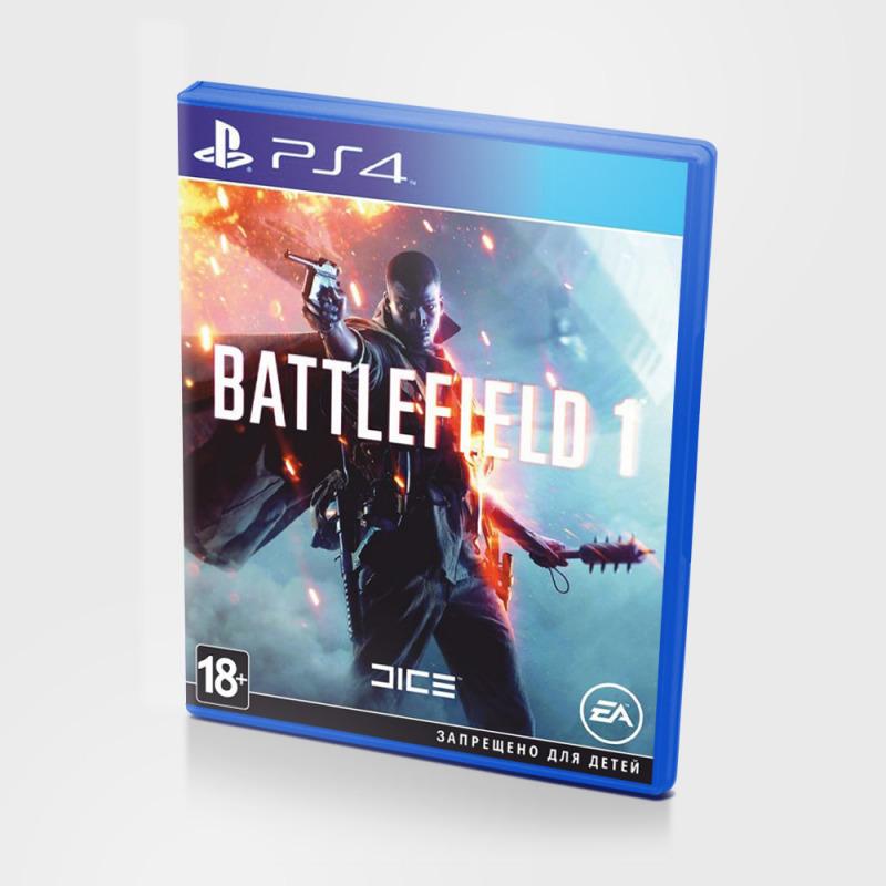 Диск для PS4 Battlefield 1