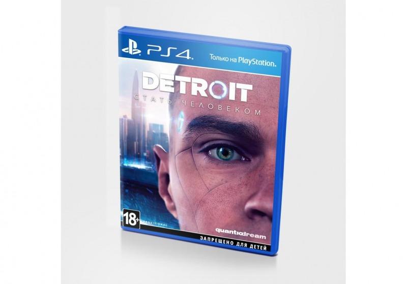 Диск PS4 Detroit