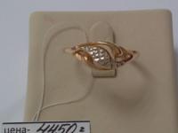 Кольцо без вставок Золото 585 (14K) вес 2.50 г