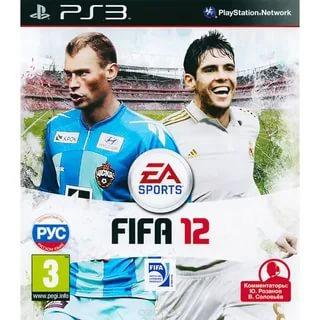 Диск для PS3 FIFA 12