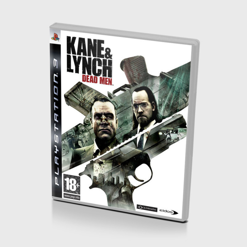 Диск для PS3 Kane Lynch: Dead Men