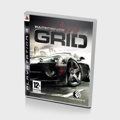 Диск для PS 3 GRID Racedriver