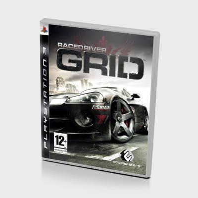 Диск для PS 3 GRID Racedriver