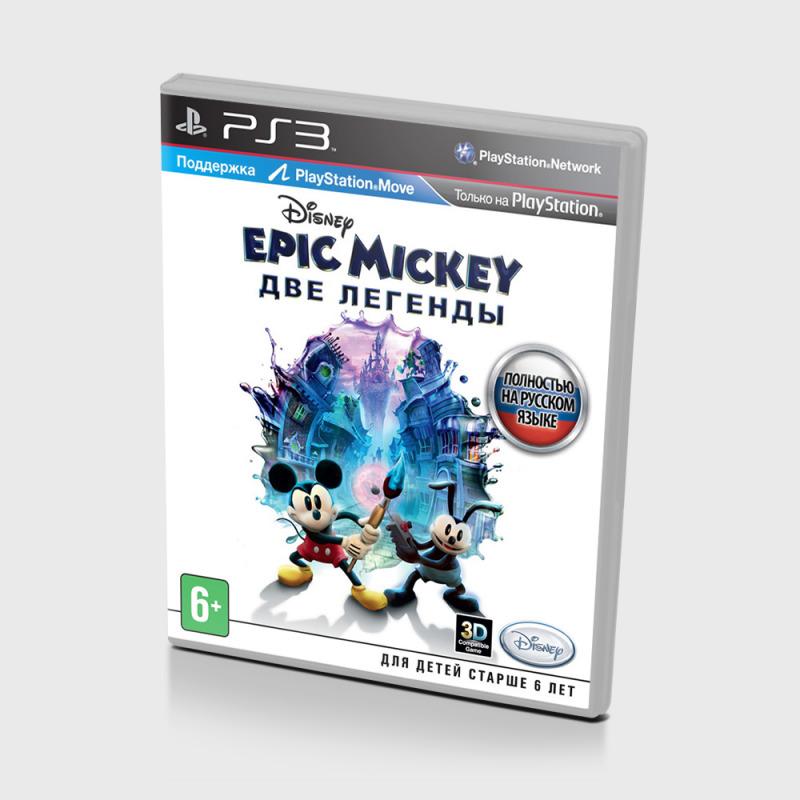 Диск PS-3 Epic Mickey Две легенды