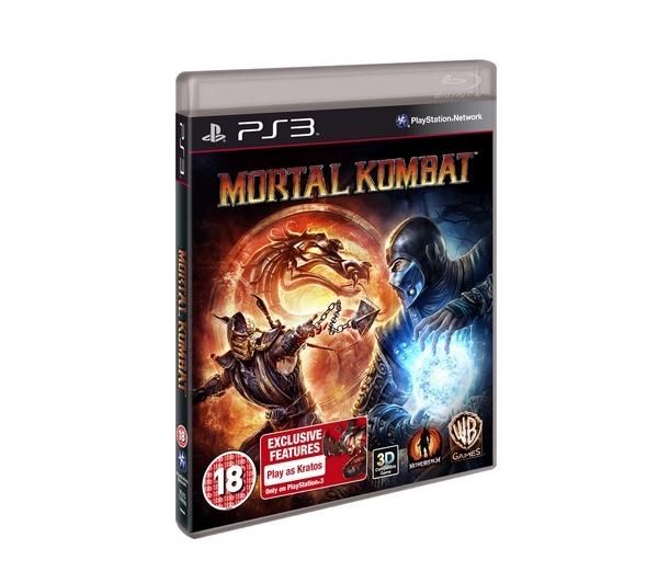 Диск на PS3 Mortal Kombat