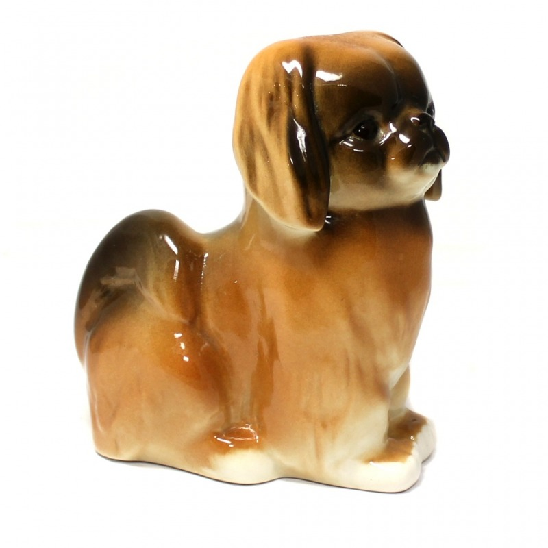 Фарфоровая статуэтка Собачка ЛФЗ