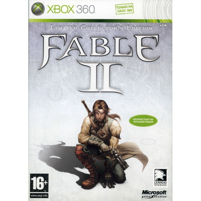 Диск для XBOX 360 Fable 2