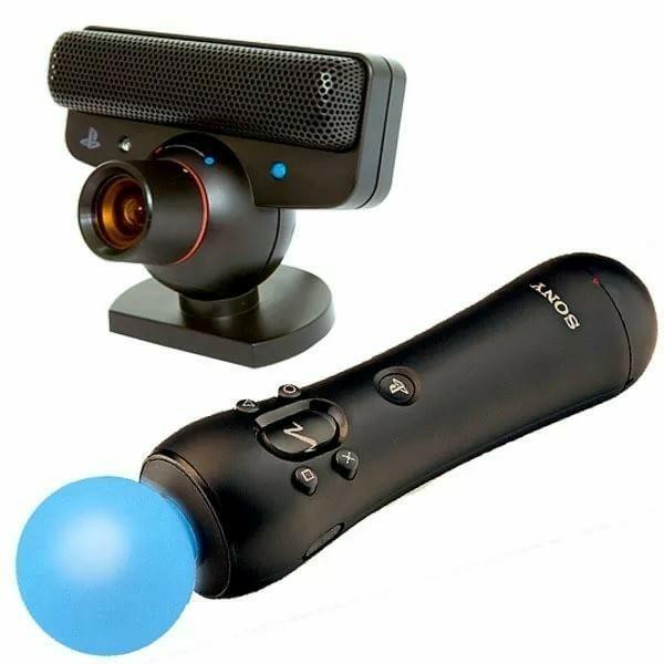Move и камера для Playstation 3