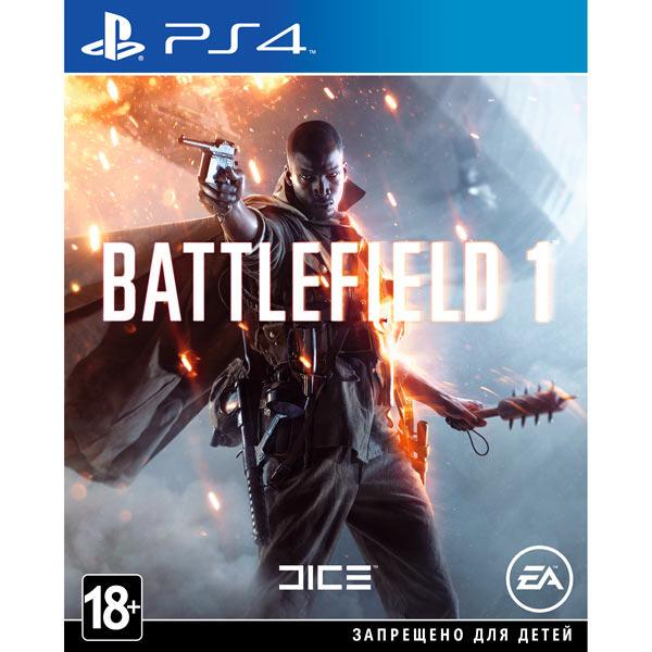 Диск PS4 EA Battlefield 1